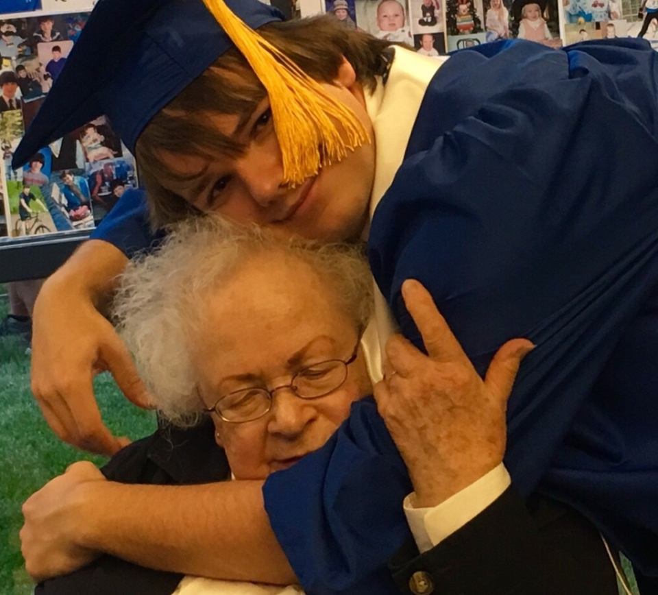 The graduate and grandma